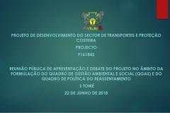 Quadro de Gestão Ambiental e Social e Quadro de Politicas de Reassentamento para o projeto reabilitação de estrada nacional nº 1 RN1